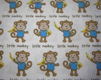 Little Monkey with banana