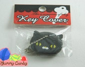 Cute Black Cat Key Cover