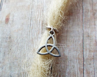 Celtic Dread Charm ADD to your DREADS Dreadlock Accessory Extension Accessories Dread Boho Bohemian Hippie Bead