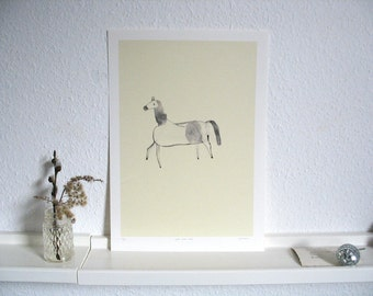 cheval etoile - limited edition print