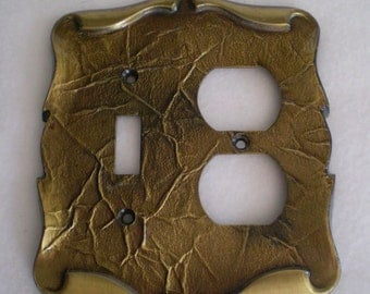 Vintage single Toggle Light Switch Plate And Outlet Plate Carriage House Design