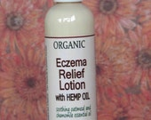 Sample Eczema Relief Lotion all natural Organic with chamomile and colloidal oatmeal