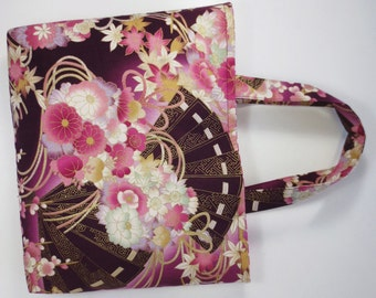 Japanese Folding Fan & Kusudama Tote Bag