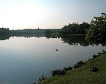 Hoyt Lake at Delaware Park in Buffalo, NY - Landscape Photography
