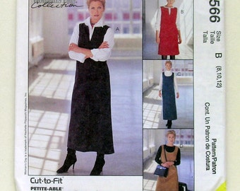 Ladies' Easy 2 Hour Jumper - McCalls 9566 - Uncut Sewing Pattern, Sizes 8, 10, and 12