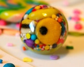 Kawaii Candy Resin Ring - Candy Jewelry - Candy Resin Ring - Food Jewelry - Resin Jewelry -Rainbow Jewelry - Allsorts Candy - Chunky Ring