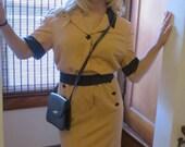 Vintage Dress-Karl Lagerfeld linen