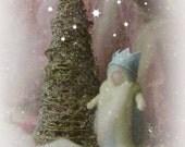 Waldorf  King Winter -   Needle felted in New Zealand Wool