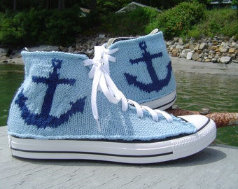 Anchor Knit Chucks, custom colors available
