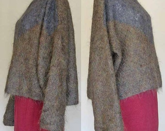 Hand Knitted Mohair Sweater 1980's