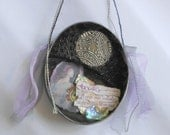 Witchy Talisman or Art Shrine, Invocation to Goddess Hecate, Decorate Personal Altar or Space