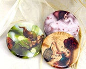 Pick 3 illustrated pocket mirrors