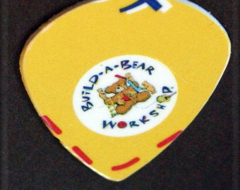 Build a Bear- Jazz guitar pick-upcycled gift card By TPowers