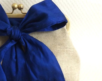 Wedding Clutch - Bridal Clutch - Blue Wedding Clutch - Bridesmaids Clutch - Bridesmaids Gifts - Blue Bridal Clutch - Mari Clutch