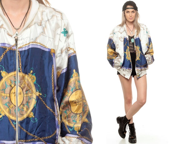 90s windbreaker world map jacket nautical baroque print 80s 90s windbreaker world map jacket nautical baroque print 80s slouchy track jacket gold chain print hipster gumiabroncs Gallery