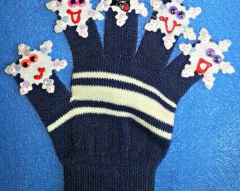 Puppet Glove Set 5 LITTLE SNOWFLAKES Puppet Glove Set