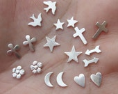 Sterling Silver  Solderable Accents, 24g(two pair)You choose which ones