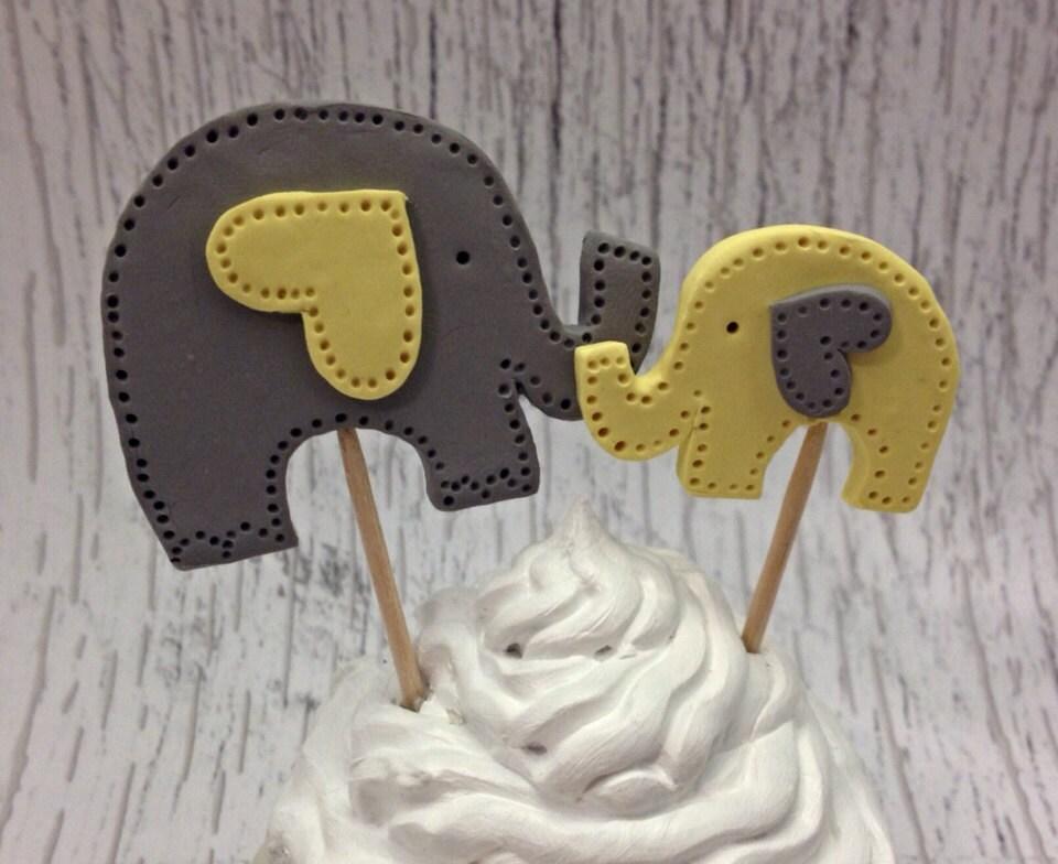 elephant baby shower cake topper elephant baby shower cake
