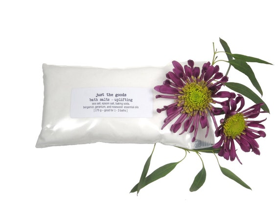Vegan Bath Salts - 3 Aromatherapeutic Varieties - 175 g