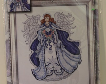 ANGEL OF SNOW Design Works Collection Cross Stitch Kit