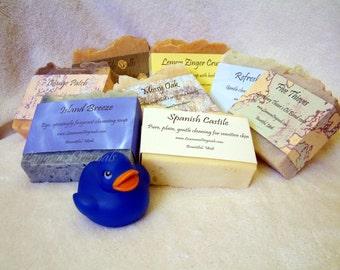 Handmade Soap Sampler Handcrafted Heaven Multi Bar Vegan Soap