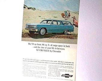 Original Vintage AD Advertisement Kitchen Print   *Additional Ads Ship Free*  CHEVY CHEVROLET