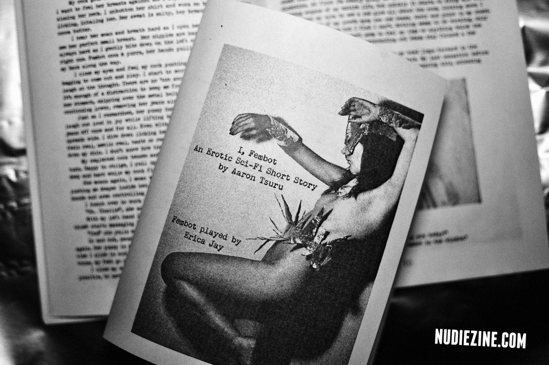 E-ZINE - I, Fembot: An erotic sci-fi short story nudiezine by Aaron Tsuru - MATURE