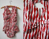 1970's Airway Swimsuit/Marguerite Williams Swimsuit/Deadstock Swimsuit