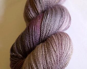 Heath Stardust celestial laceweight yarn