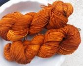 Gold Digger -- Pure Sock -- Hand Painted Superwash Merino Wool/Nylon Sock Yarn