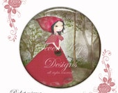 Little Red Riding Hood- pocket mirror