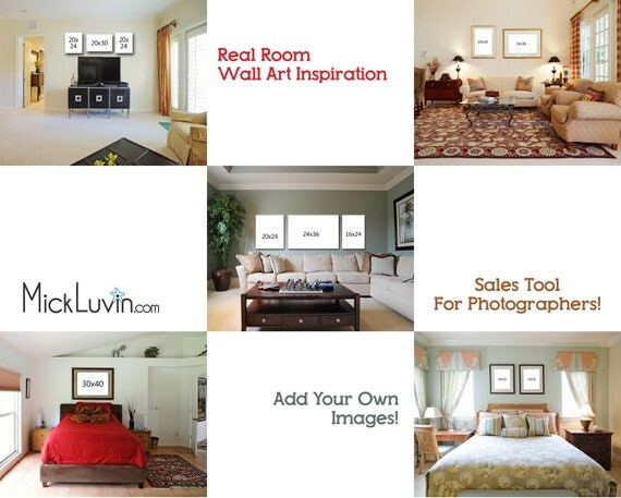 5 photoshop templates of real rooms for upselling your for Photoshop room templates