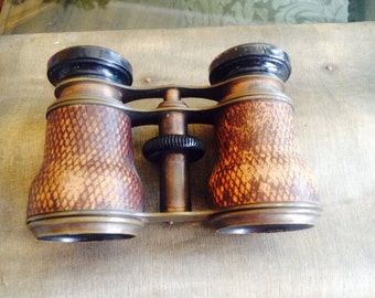 Chevalier Leather Opera Glasses
