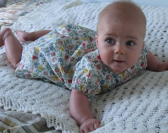 Beautiful liberty lawn dress and pants age approx.  6 months