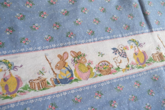 Vintage Fabric Cranston VIP Cottontail Corners By Pumpkintruck