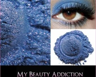 Loose Mineral Eyeshadow-Moody Bluez-Twinkle FX-