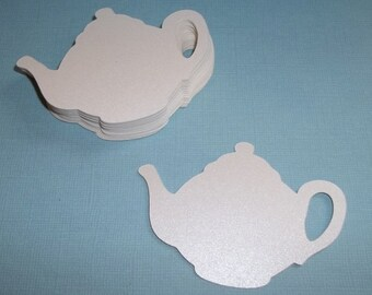 Teapot Tags--Tea Party--25