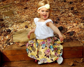 On SALE! The Tia twirl skirt, size 6mos.-10 girls