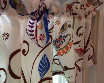 Valance using Valorie Wells Wrenly