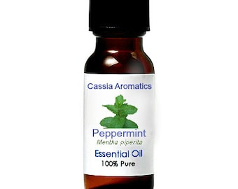 Peppermint Essential OIl Certified Pure Grade 100% Pure choose your size