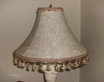 fringe floor lamp etsy. Black Bedroom Furniture Sets. Home Design Ideas