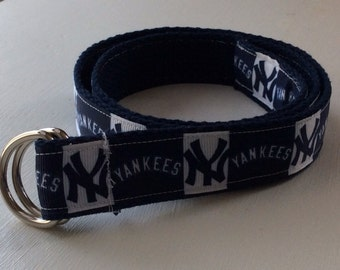 NY Yankees Ribbon Belt