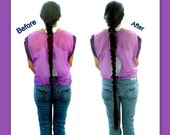 Extra long Paranda hair extension extend lengthen thicken braid plait bun chignon hair filler switch hair plait costume wig
