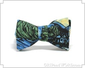 The Starry Night - Vincent Van Gogh Bow Tie