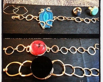 Crystal Funky chain bracelets by FC