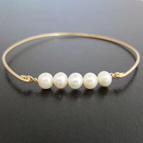Gold Pearl Bracelet, Wedding Pearl Bracelet, Bridal Pearl Bracelet, Wedding Pearl Jewelry, Bridal Pearl Jewelry, Gold Bridal Bracelet