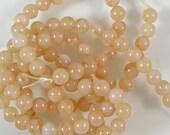 Aventurine Round Beads 60% off, qty 50