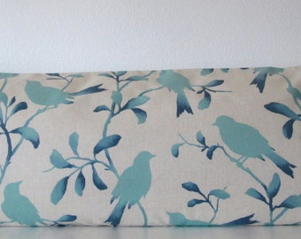 Pillow Cover - Blue - Ombre - Rockin Robin Breeze - 20x54 - body pillow cover - Body Pillow Case