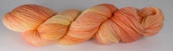 Baby PHX--Tequila Sunset 52/2 merino/cashmere/silk
