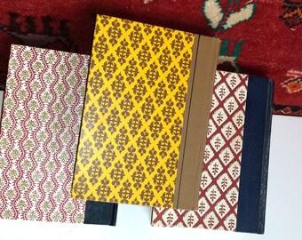 Vintage Decor Books, Decorative Covered Books, Set of Vintage Books